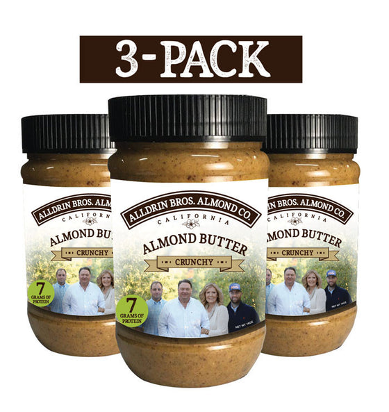 Crunchy Almond Butter | 3-Pack