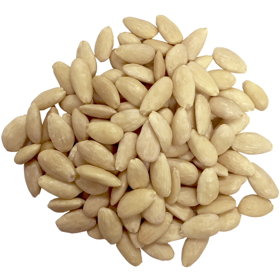 WHOLE BLANCHED ALMONDS - $4.84/LB