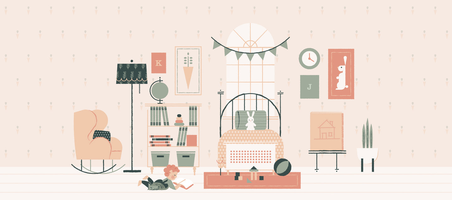 Kitty & June nursery decor