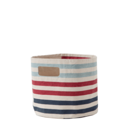 Stripe Bin Toy Storage