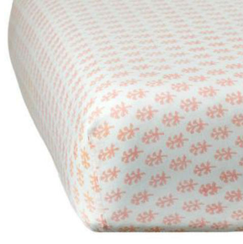 Rikshaw Design Pink Crib Sheet Nursery Bedding