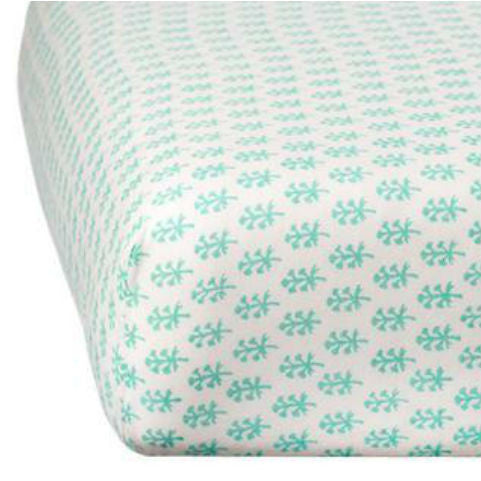 Rikshaw Design Turquoise Crib Sheet Nursery Bedding