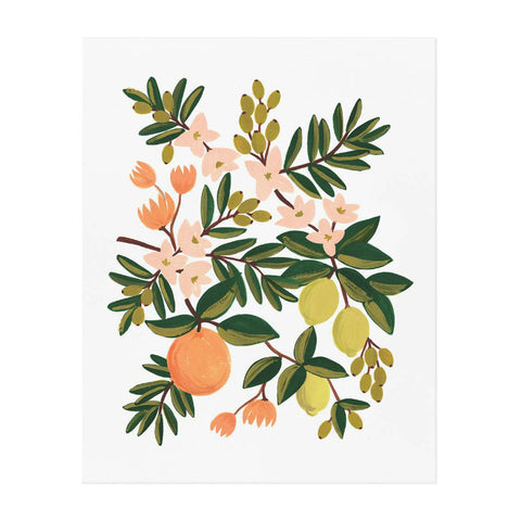 Rifle Paper Co. Floral Print Nursery Art