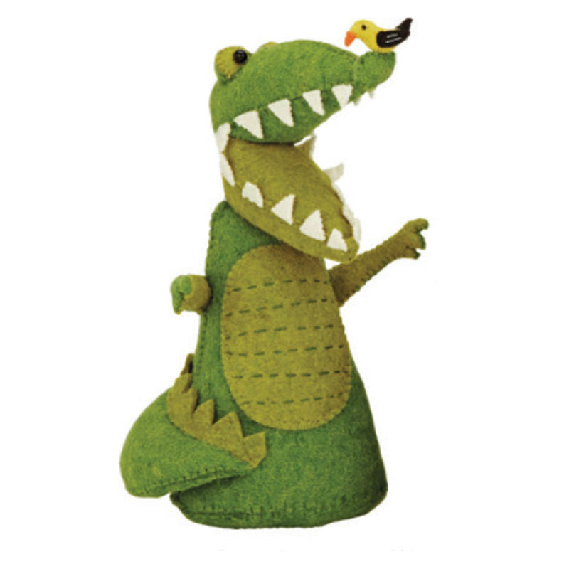 Fiona Walker England Crocodile Bookend Nursery Decor