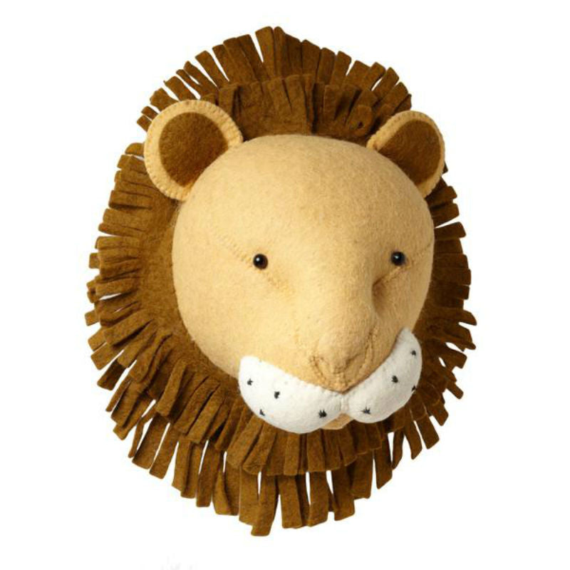Fiona Walker Lion Head Kids Room
