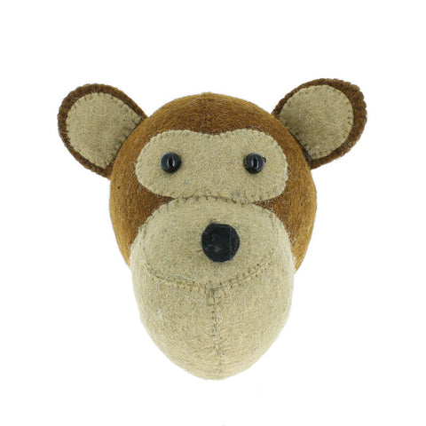 Fiona Walker Monkey Head Mini