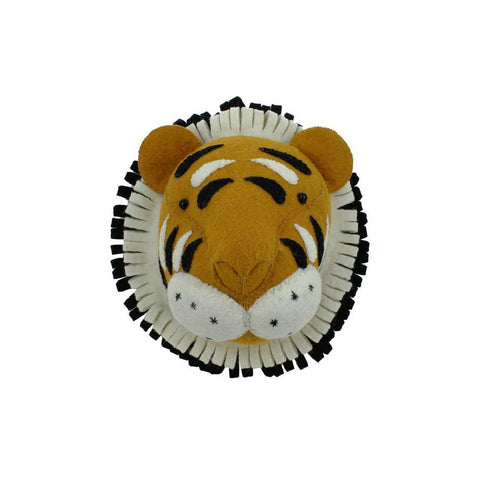 Fiona Walker England Tiger Head Mini Nursery Decor