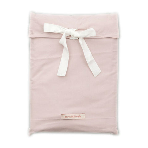 Garbo and Friends Rose Pink Crib Sheet