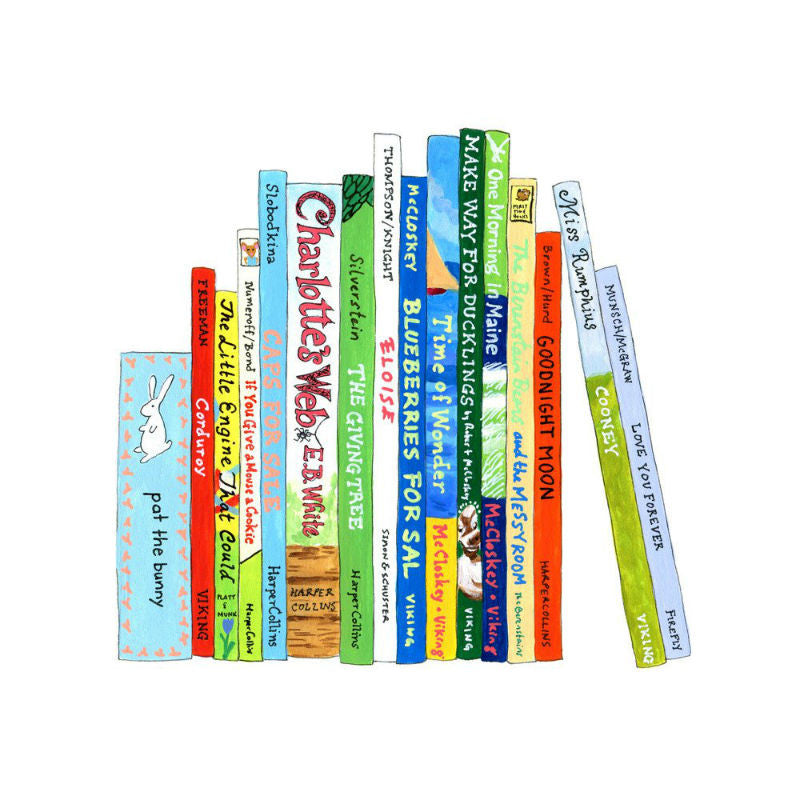 Ideal Bookshelf Children's Classics Nursery Art