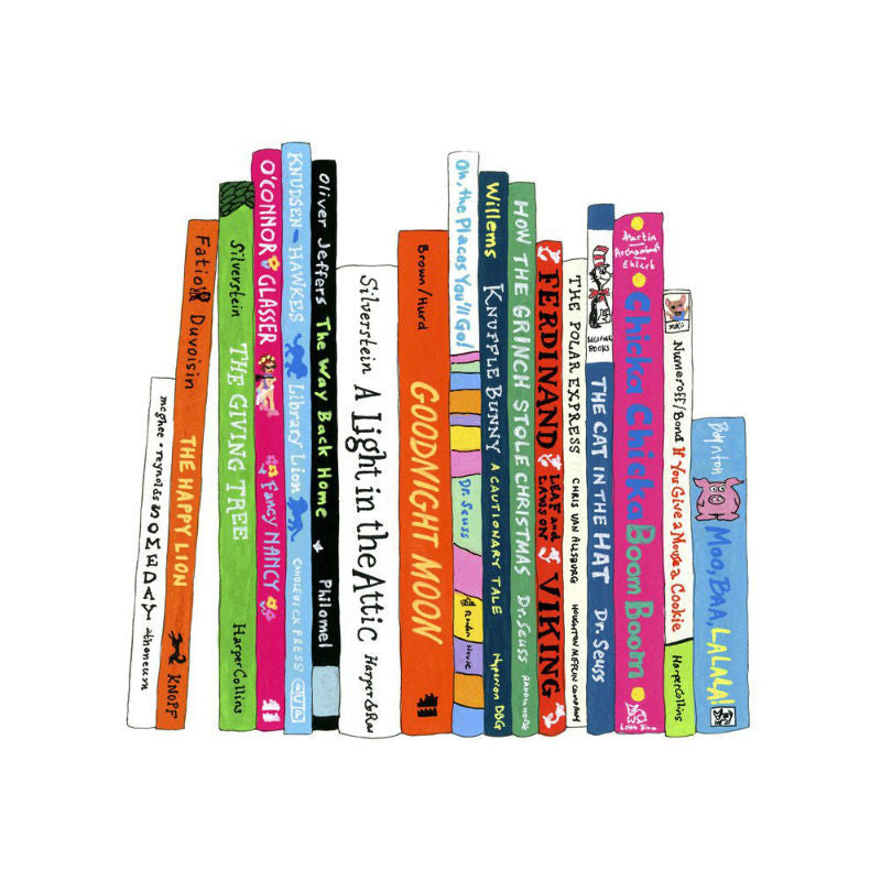 Ideal Bookshelf Kids Books Art Print