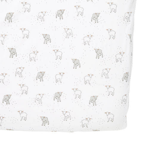 Petit Pehr Little Lamb Crib Sheet Nursery Bedding