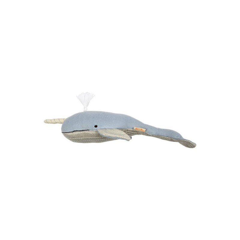 Meri Meri Milo Narwhal Stuffed Animal