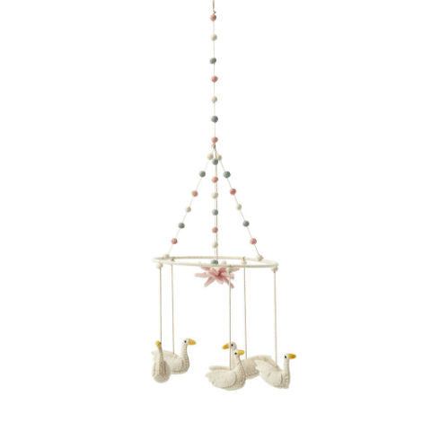 Petit Pehr Swan Lake Mobile Nursery Decor