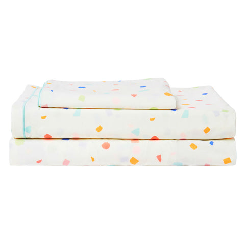 Meri Meri Terazzo Twin Sheet Set