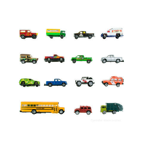 Toy Truck Art Print Boy Room