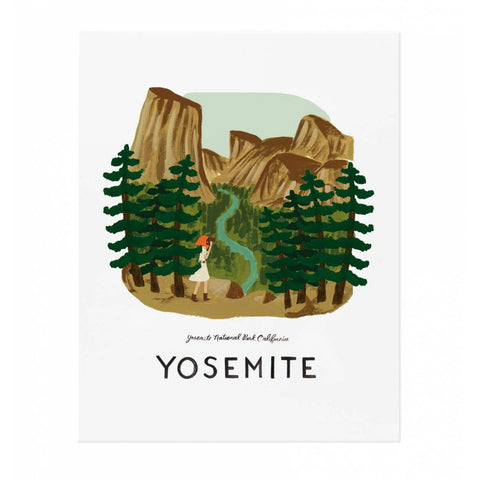 Rifle Paper Co. Yosemite Print