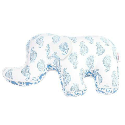 Rikshaw Design Blue Elephant Pillow Baby Gift
