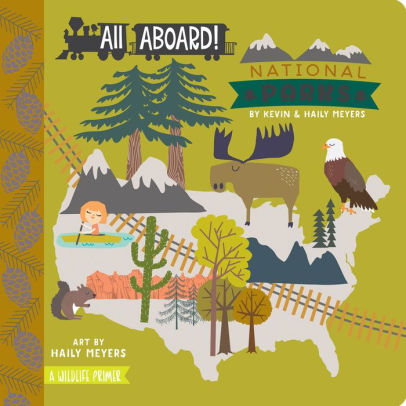 All Aboard! National Parks: A Wildlife Primer children's book