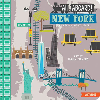 All Aboard! New York: A Wildlife Primer children's book