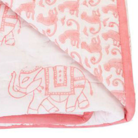 Rikshaw Design Play Blanket Taj Pink