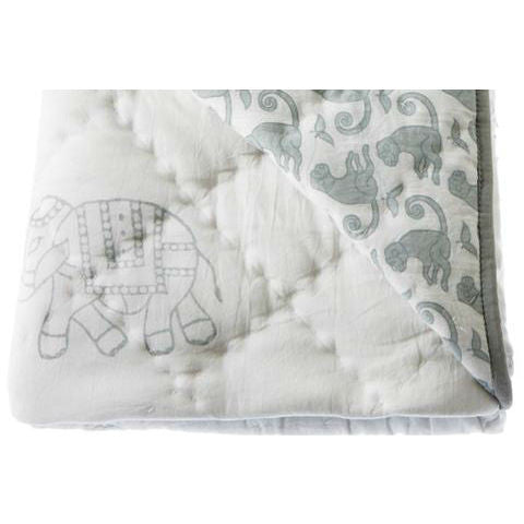 Rikshaw Design Play Blanket Taj Grey
