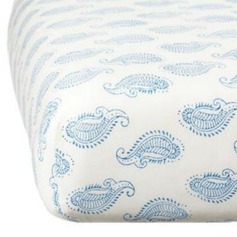 Rikshaw Design Taj Paisley Crib Sheet