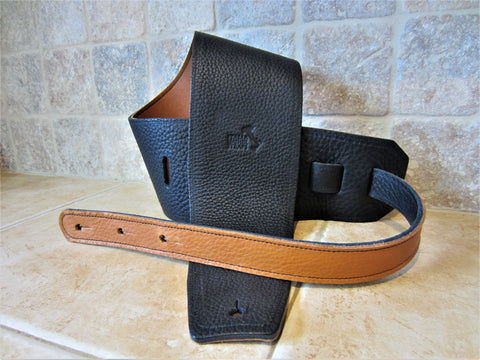 Special Release: 4 Inch Wide Leather Backed Straps
