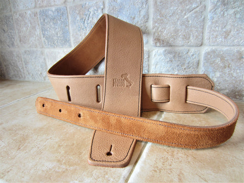 2.5 Inch Sunrise Leather Guitar Straps [New Leather Color]