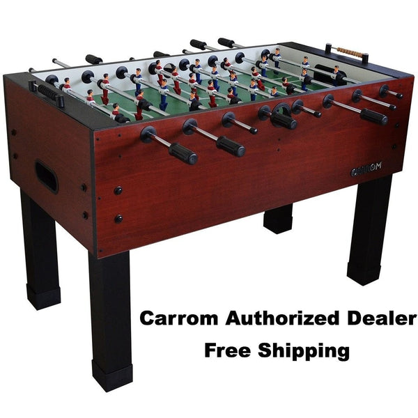CARROM WILD CHERRY FOOSBALL TABLE - Foosball Master