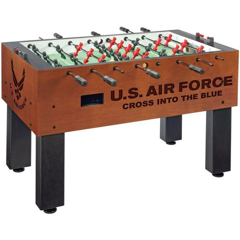 Official Military Logo Foosball Table - US Air Force - Foosball Master