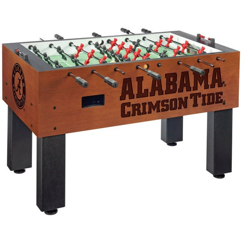 Alabama Crimson Tide Logo Foosball Table - Foosball Master