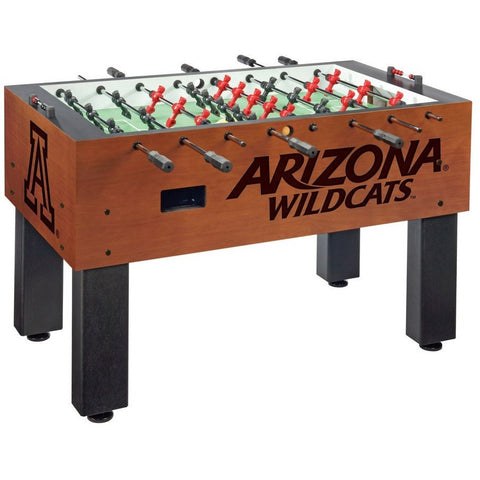 Arizona Wildcats Logo Foosball Table - Foosball Master
