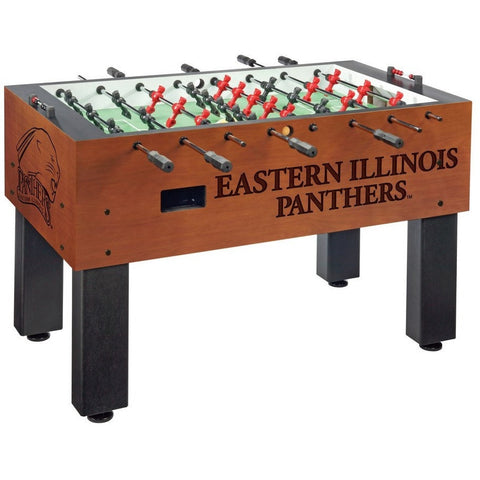 East Illinois Logo Foosball Table - Foosball Master