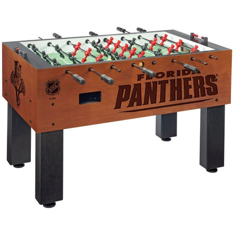 Florida Panthers Logo Foosball Table - Foosball Master