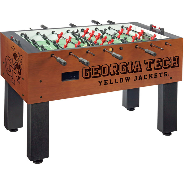 Georgia Tech Logo Foosball Table - Foosball Master