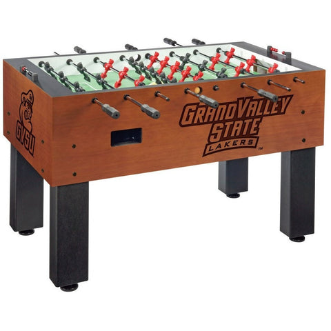 Grand Valley State Logo Foosball Table - Foosball Master