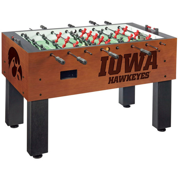 Iowa Hawkeyes Logo Foosball Table - Foosball Master