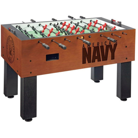 US Navy Logo Foosball Table - Foosball Master