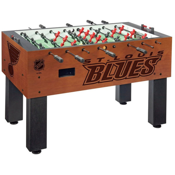 St Louis Blues Logo Foosball Table - Foosball Master