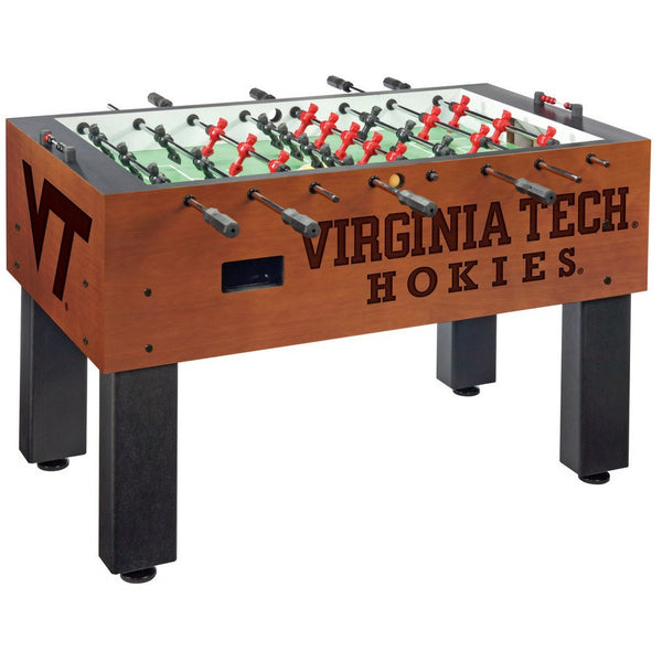 Virginia Tech Logo Foosball Table - Foosball Master