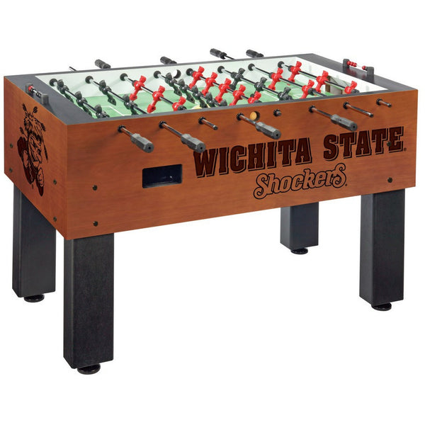 Wichita Logo Foosball Table - Foosball Master