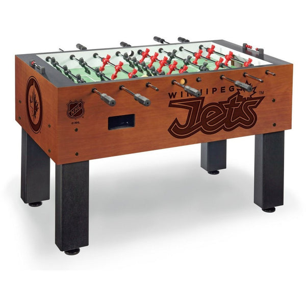 Winnipeg Jets Logo Foosball Table - Foosball Master