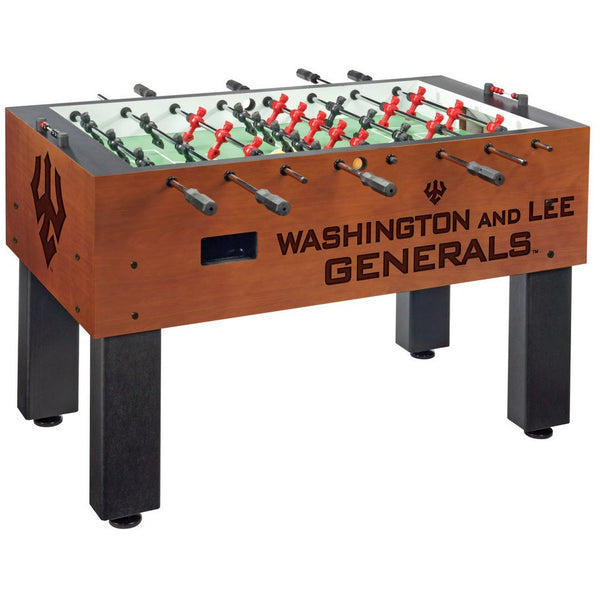 Washington and Lee Logo Foosball Table - Foosball Master