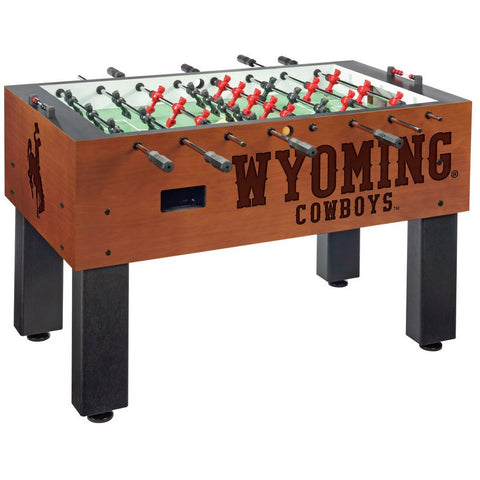 Wyoming Logo Foosball Table - Foosball Master