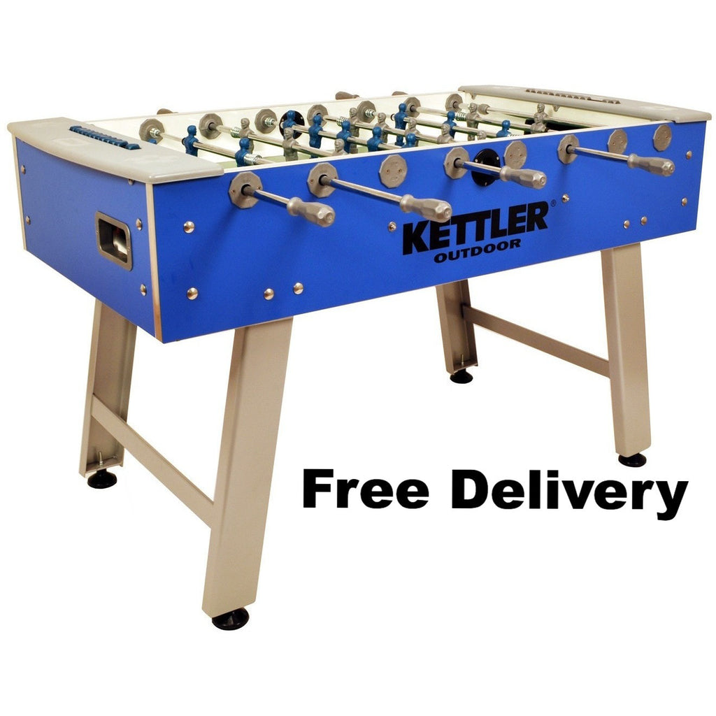 kettler outdoor foosball table foosball master 1 - Foosball Table For Sale