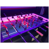 Warrior Force 4 LED Foosball Table - Foosball Master