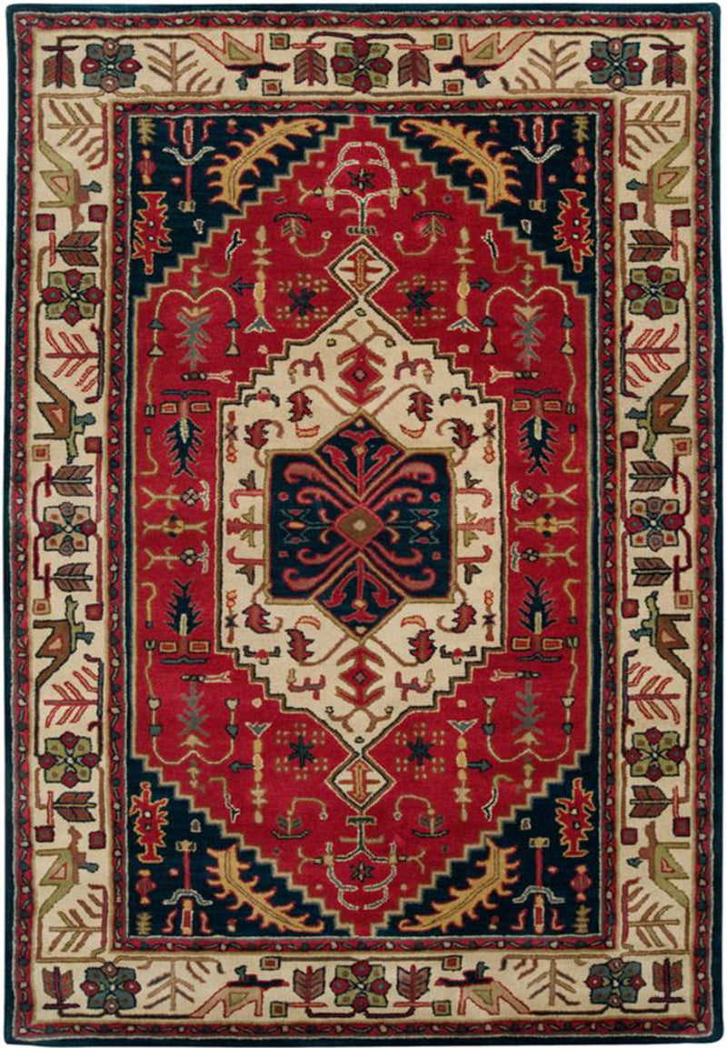 Surya Ancient Treasures A134 Garnet Area Rug