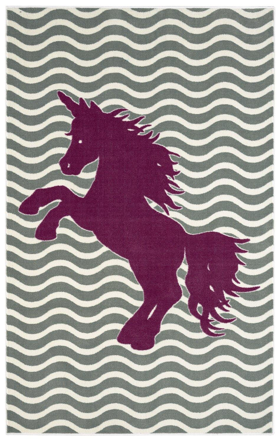 Mohawk Aurora (Kids) Majestic Unicorn Royal 12393-235 Area Rug