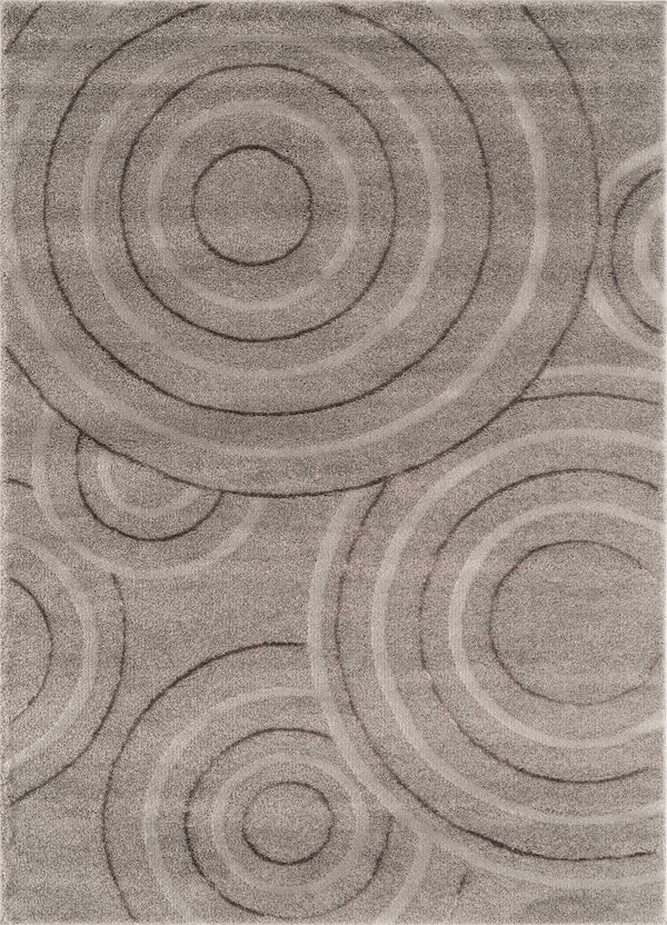 United Weavers Mystique Enid 1955-02072 Grey Area Rug