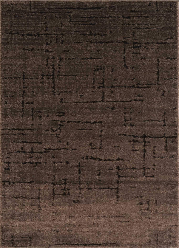 United Weavers Mystique Kismet 1955-02150 Brown Area Rug